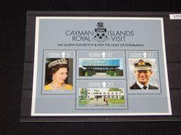 Cayman Islands - 1983 British Royal Couple Block MNH__(TH-15971) - Kaaiman Eilanden