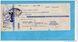 "Lettre De Change-""Biscuits Gondolo""6-OCT 1945-acquittée+marque   Enregistrement - Bills Of Exchange"