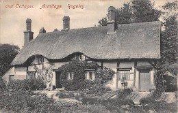 "06139 ""ARMITAGE - RUGELEY - STAFFORDSHIRE - ENGLAND - OLD COTTAGE"" CART. ORIG. NON SPEDITA - Altri"