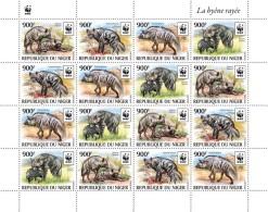 WWF W.W.F. Niger Hyena MNH Sheetlet 2015 - W.W.F.