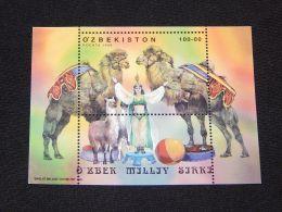 Uzbekistan - 2000 Uzbek National Circus Block MNH__(THB-4480) - Uzbekistan
