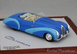 DELAHAYE 135 MS Cabriolet Faget Varnet - 1949 - CHROMES Chro26 - 1/43 - Altri