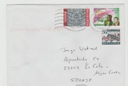 B366 /  BELGIEN - Mischfrankatur (3 Marken) Brief Von  2016 - Belgium