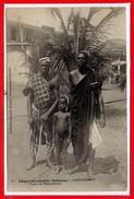 AFRIQUE --  DAHOMEY -- Cotonou - Ty^pes De Dahoméens - Dahomey