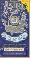 81101 Astro Sagittaire - Billets De Loterie