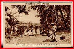 AFRIQUE --  DAHOMEY -- Acheteurs De Graines - Dahomey