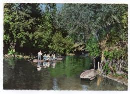 LA GARETTE--Marais Poitevin--Départ D'une Promenade Pour Le Marais (animée,barque),cpsm N° 210 éd Combier - Sonstige Gemeinden