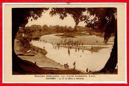 AFRIQUE --  DAHOMEY --  Le Lit Du Mono à Athiémé - Dahomey