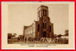 AFRIQUE --  DAHOMEY --  Cathédrale à Ouidah - Dahomey
