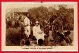 AFRIQUE --  DAHOMEY -- Une Leçon De Catéchisme à Zagnanado - Dahomey