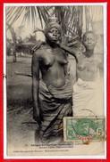 AFRIQUE --  DAHOMEY -- COTONOU  - Jeunes Fille - Dahomey