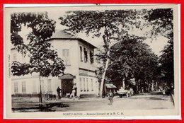 AFRIQUE --  DAHOMEY -- PORTO NOVO - Avenue Liotard - Dahomey