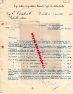 ITALIE - FACTURE RAG. E. CONTI & C. VERCELLI- PRODUITS AGRICOLES INDUSTRIELS- 1920 - Italie