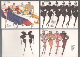 A. IMMEDIAT   4   CARTES DE VOEUX 2003 Thierry MUGLER - Perfume Cards