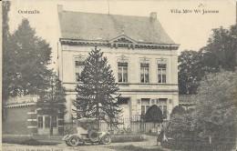 Oostmalle.    Villa Mme We Jansens   -  Uitg.  Hotel Gouden Leeuw.  1920  Naar  Borgerhout. - Malle