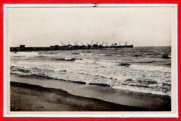 AFRIQUE --  DAHOMEY --Cotonou - Le Whart Et La Barre - Dahomey