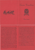 H43) REGGIMENTO SAVOIA CAVALLERIA - BROCHURE - Documentos