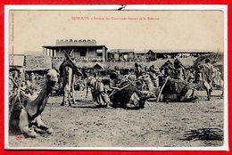 AFRIQUE --  SOMALIE - DJIBOUTI --  Station Des Caravanes - Somalie