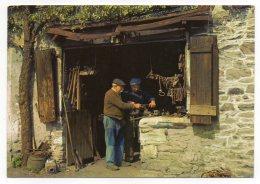 Belgique-PALISEUL---Vieux Métiers--Vieille Forge Ardennaise (animée), Cpm N°800/8  éd Thill écrite à MAISSIN