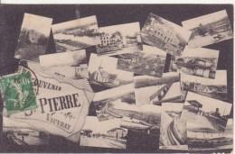 SAINT-PIERRE-du-VOUVRAY: Multivues-- Souvenir - Frankrijk