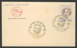 Italy Italie Italia 1979 FDC + Mi 1647 YT 1379 - Albert Einstein (1879-1955) – 14.3.1979 . Giorno Di Emissione - Albert Einstein