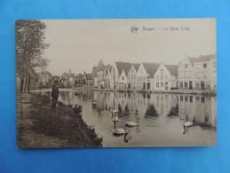 Bruges - Le Quai Long. - Brugge