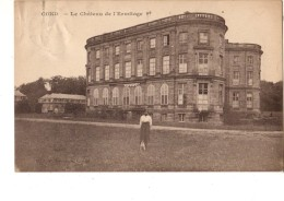 BELGIQUE---COND-BONSECOURS--le Château De L´ermitage--(état Moyen Carte Pliée)---voir 2 Scans - Péruwelz