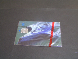TARJETA DE PANAMA DE CABLE & WIRELESS DE B/3.00 (BARCO-SHIP) (NUEVA-MINT);