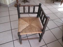 Belle Chaise  En Bois - Mobili