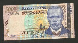MALAWI - RESERVE BANK Of MALAWI - 500 KWACHA (2005) - Malawi
