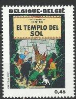 BELGIQUE 2007 TINTIN - Le Temple Du Soleil - Bandes Dessinées
