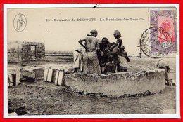 AFRIQUE --  SOMALIE - DJIBOUTI -- La Fontaine - Somalie