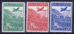 Bulgaria Mi Nr 249 - 251 MH/* Falz/ Charniere  1932 - Poste Aérienne