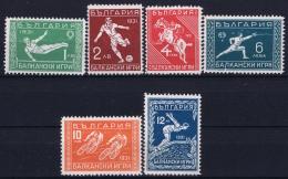 Bulgaria Mi Nr 242 - 247 MH/* Falz/ Charniere  1931 - 1909-45 Royaume