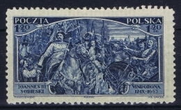 Poland  Mi Nr  283  MH/* Falz/ Charniere  1933 - 1919-1939 Republic