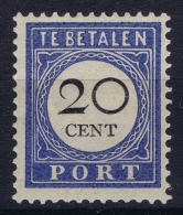Netherlands:  NVPH Nr Port 25   MH/* Falz/ Charniere - Portomarken