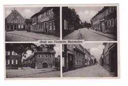 ALLEMAGNE Gruss Aus FLONHEIM Rheinhessen Gasthaus Z. Lamm Cafe Biere U. Weine , Carte Non Voyagée - Alzey