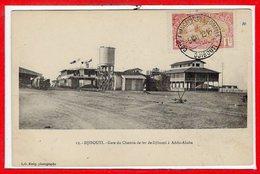 AFRIQUE --  SOMALIE - DJIBOUTI -- Gare Du Chemin De Fer - Somalie
