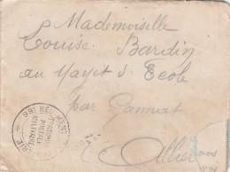 LAC FM CACHET 98EM REGIMENT D INFANTERIE 7/8/1914  AU MAYET D ECOLE                           TDA74 - Guerra De 1914-18