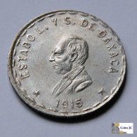 México - Oaxaca - 1 Peso - 1915 - Mexiko