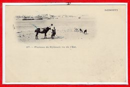 AFRIQUE --  SOMALIE - DJIBOUTI - Plateau - Vu De L'est - Somalia