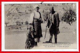 ALBANIE --  Types Du Pays - Albanie