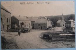 BEAURAING - WINENNE - ENTREE DU VILLAGE DE DION - TRES RARE - Beauraing