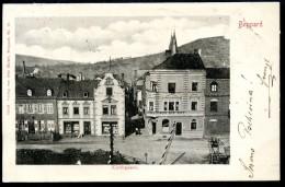 """Boppard, Kirchgasse, 4.11.1902, """"Wein,Bier,Cafe"""",Schranken, Verlag Otto Meisel - Rhein-Hunsrueck-Kreis"""
