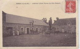 PORDIC : Intérieur De La Ferme De La Ville Robert - Peu Courant - Frankreich