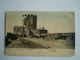 Grece - Greece // Rhodes // Tour Nois Et Anciens Canons Des Chevaliers // Used 19?? (card Ca 1899