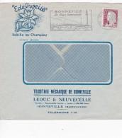 FRANCE  1960 LETTRE ILLUSTREE DE BONNEVILLE THEME EDELWEISS - Briefe U. Dokumente