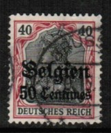 BELGIUM   Scott # N 5  VF USED - WW I