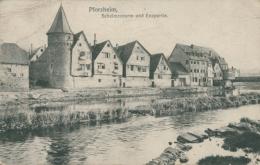 DE PFORZHEIM / Schelmenturm Und Enzpartie / - Pforzheim