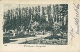 DE PFORZHEIM / Stadtgarten / - Pforzheim